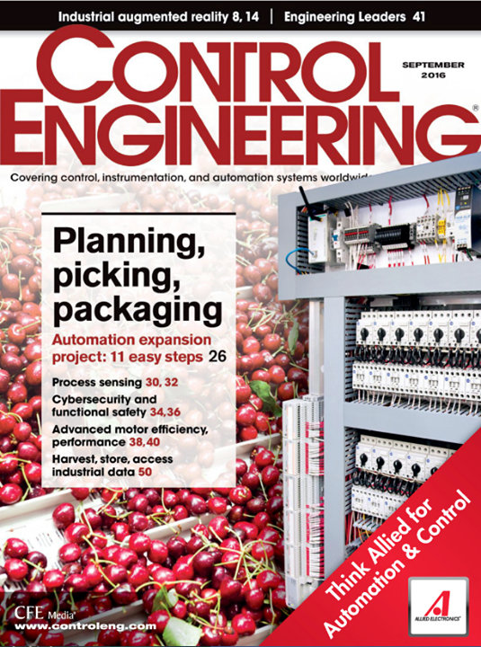 Control Engineering cover