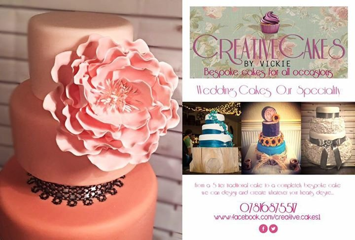 Creative Cakes By Vickie cover
