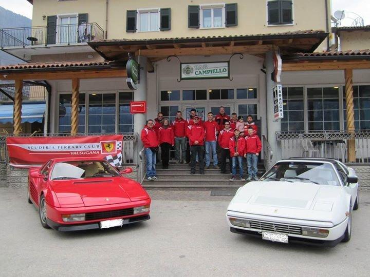 Scuderia Ferrari club Valsugana cover
