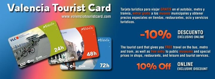 Valencia Tourist Card cover
