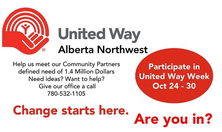 United Way Alberta Northwest cover