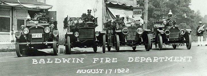 Baldwin Fire Department cover