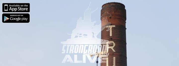 Strongroom Alive cover