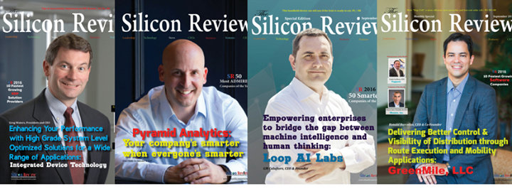 The Silicon Review cover