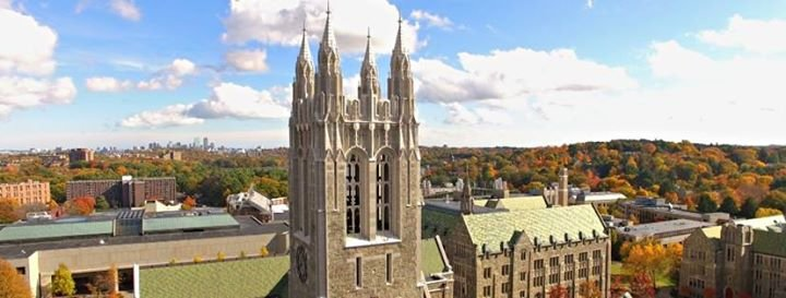 Boston College cover
