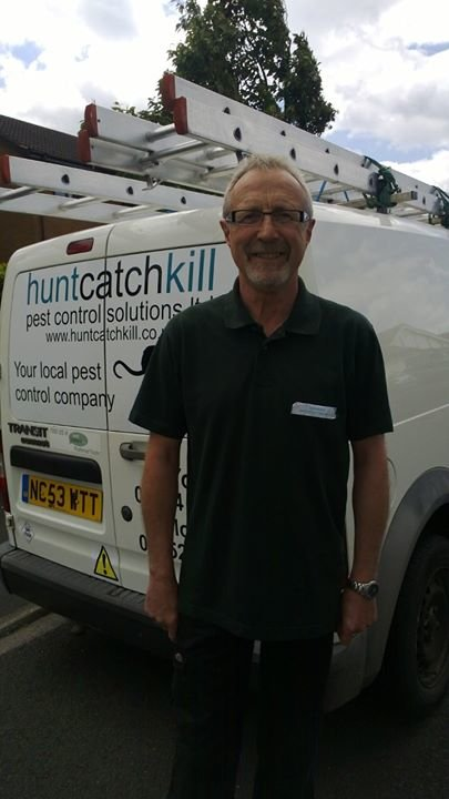 HuntCatchKill Pest Control Solutions Ltd cover