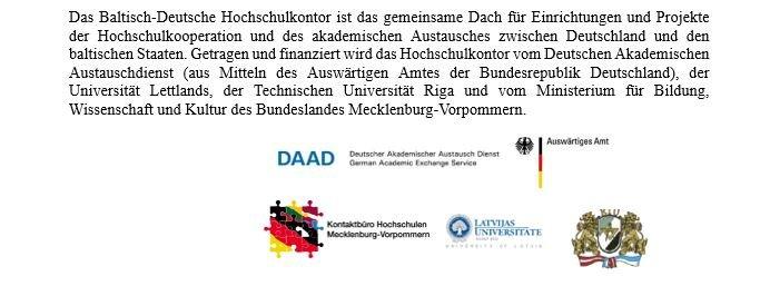 Baltisch-Deutsches Hochschulkontor cover