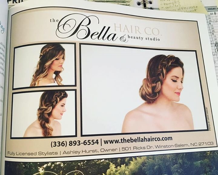 The Bella Hair Co. & beauty studio cover