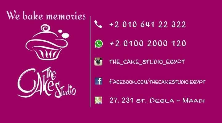 The Cake Studio Egypt cover