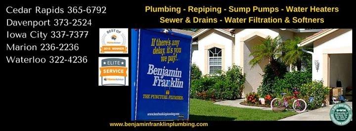 Benjamin Franklin Plumbing cover