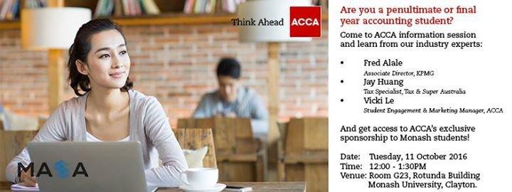 MASA - Monash Accounting Students' Association cover