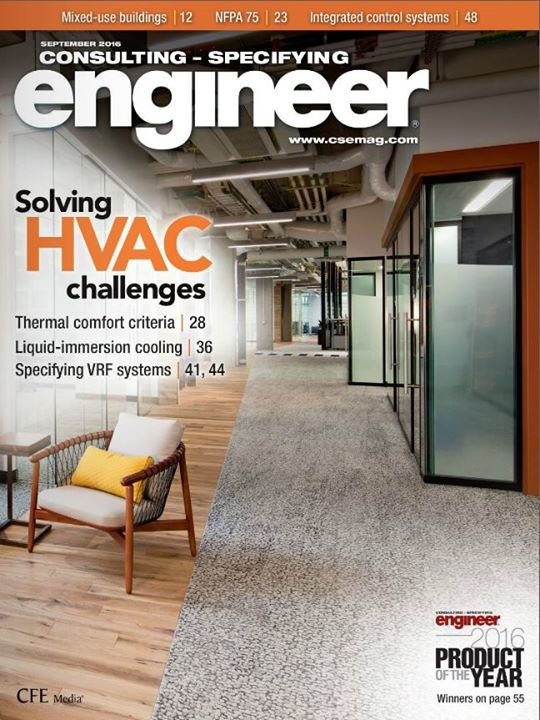 Consulting-Specifying Engineer cover
