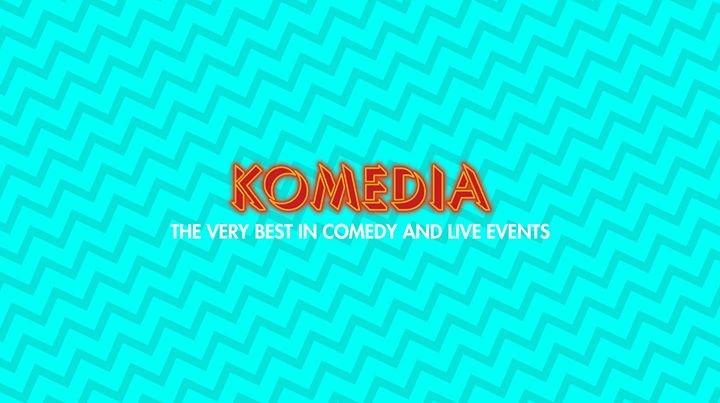 Komedia Brighton cover