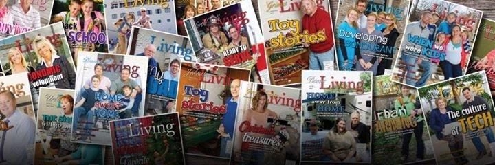 Iowa Living Magazines cover
