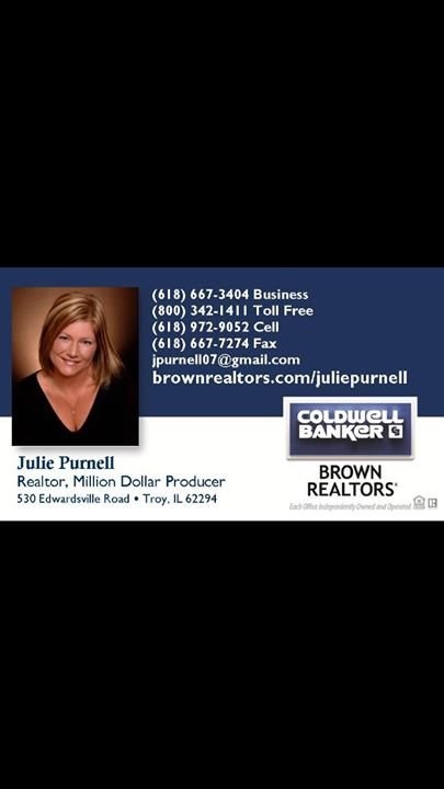 Julie Purnell Coldwell Banker Brown Realtors cover