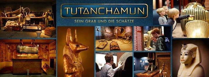 Tutanchamun Ausstellung cover