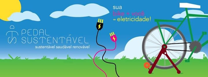 """Pedal Sustentável    """"A energia é Sua"""" cover"""