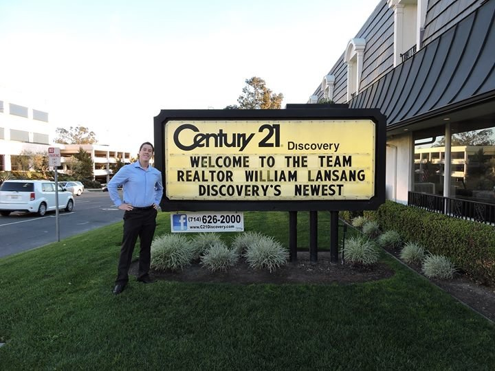 William Lansang at Century 21 Discovery cover