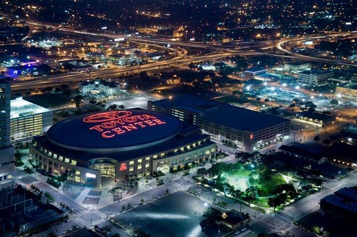 Houston Toyota Center cover