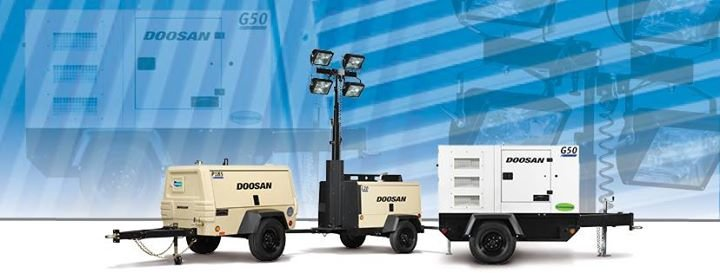 Doosan Portable Power cover