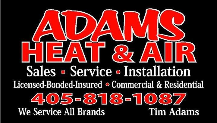 Adams' Heating & Air LLC cover