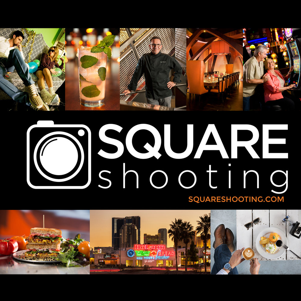 Square Shooting -  Professional Commercial Photographer in Las Vegas cover