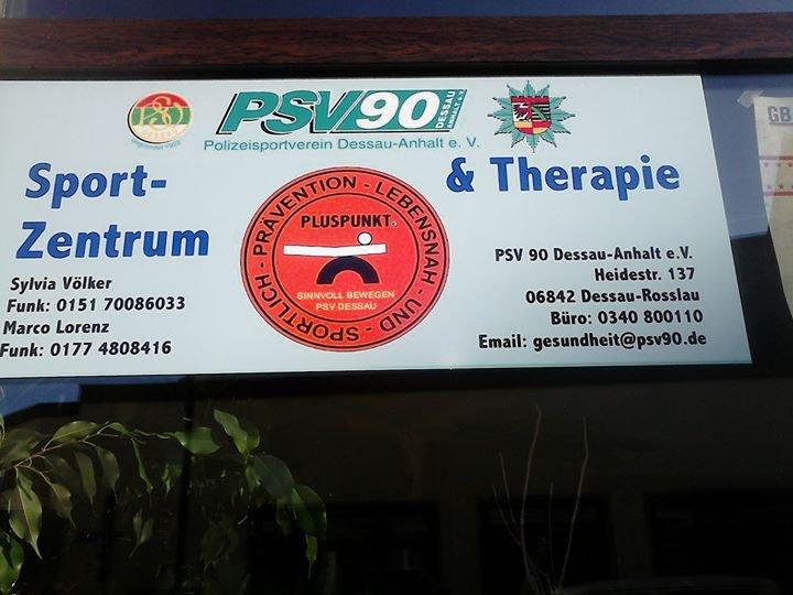 PSV 90 Dessau Sportzentrum & Therapie in Rosslau cover
