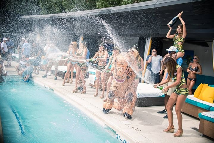 LIQUID Pool Lounge cover