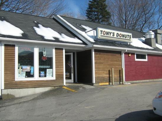 Tony's Donut Shop - Portland, Maine cover