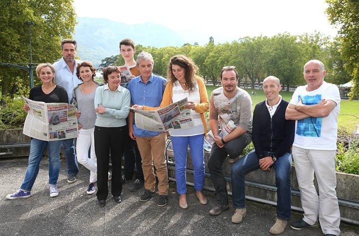 Le Dauphiné Libéré Annecy cover