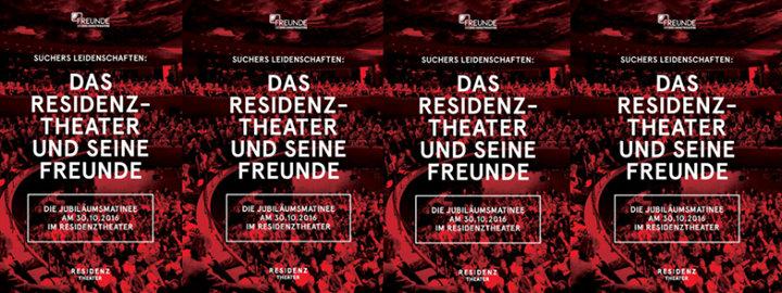 Freunde des Residenztheaters cover