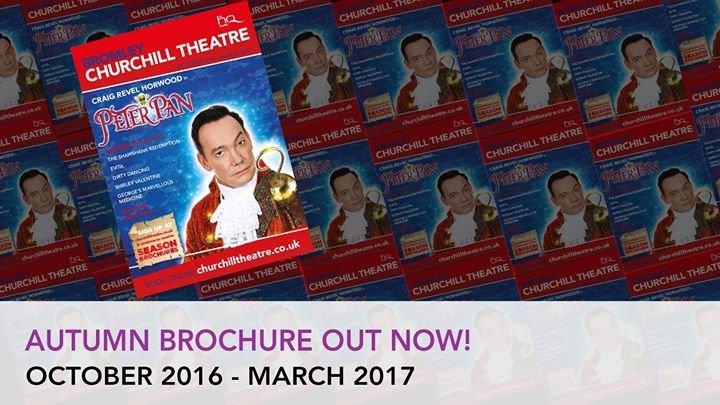 Churchill Theatre Bromley cover
