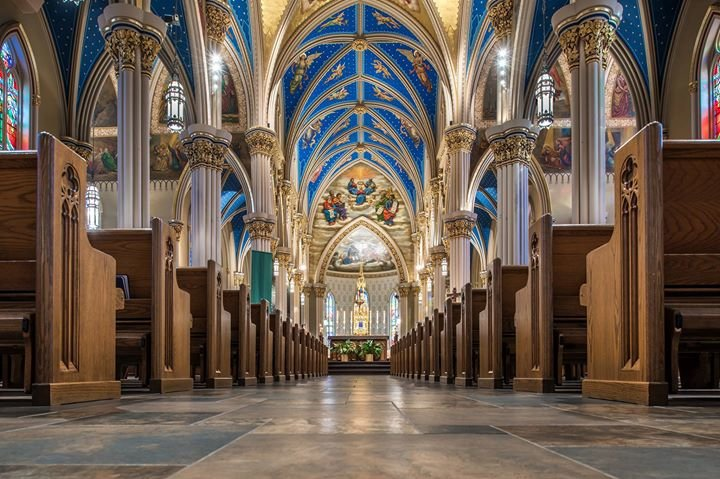 Basilica of the Sacred Heart at the University of Notre Dame cover