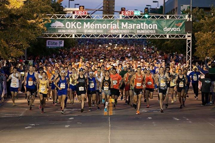 Oklahoma City Memorial Marathon cover