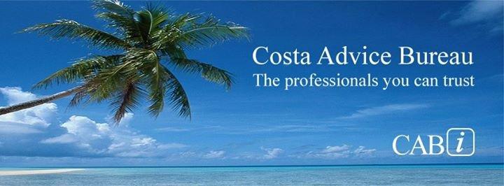 Costa Advice Bureau cover
