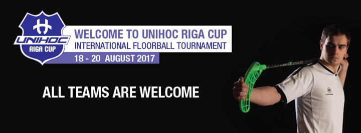 Riga Floorball Cup cover