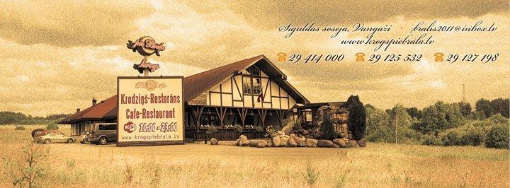 """Krodziņš-Restorāns """"Pie Brāļa""""; Cafe-Restaurant """"Pie Brāļa"""" cover"""