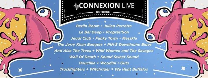 Connexion Live cover