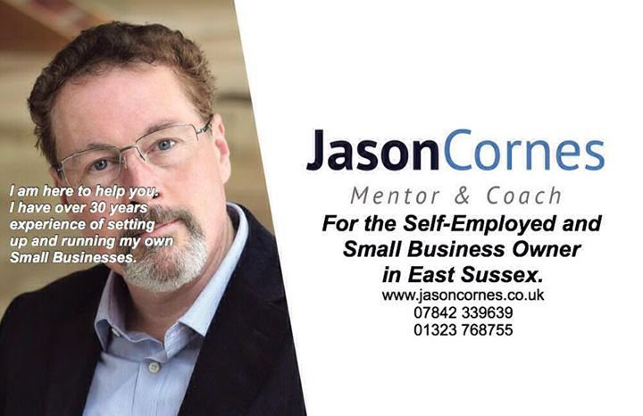 Jason Cornes. Business Mentor and Coach. cover