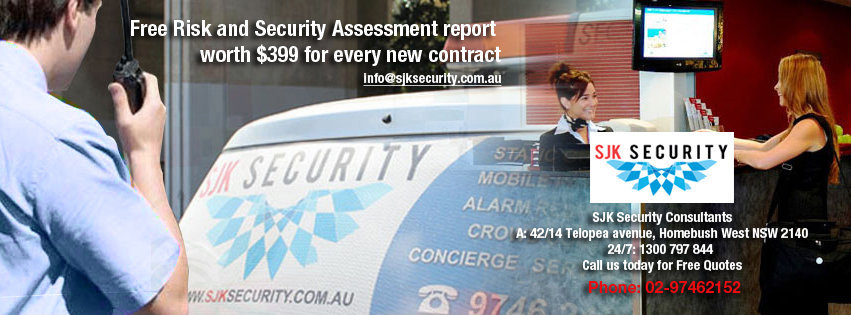 Security Guards Sydney - Sjk Security Consultants Pty Ltd in Sydney cover