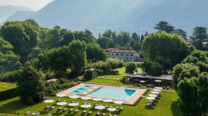 Sheraton Lake Como Hotel cover