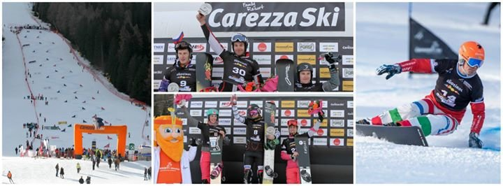 Snowboard FIS World Cup Carezza cover