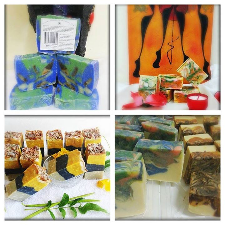 African Showers  Handcrafted Soaps cover