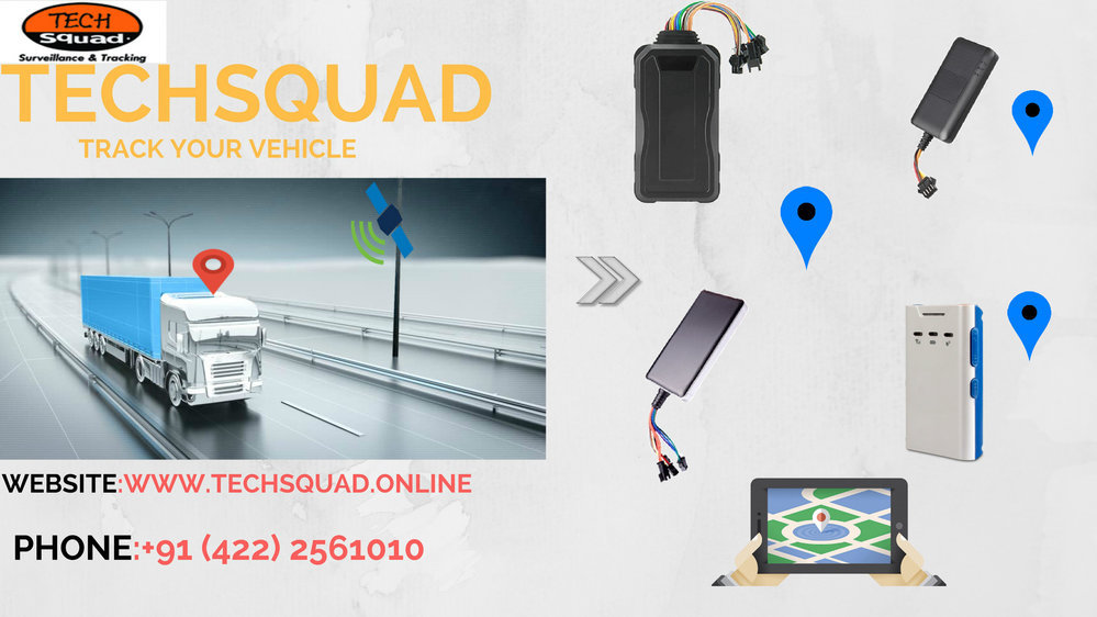 Techsquad - GPS Vehicle Tracking System in Coimbatore cover