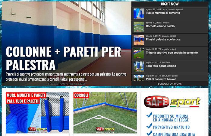 Pavimentazioni in gomma e protezioni sportive antitrauma - Safe Sport Italia cover
