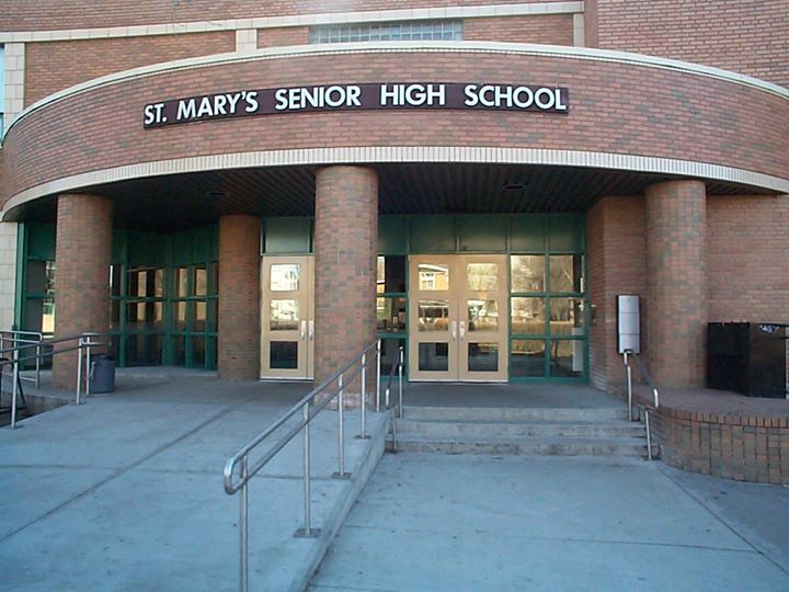 St. Mary's High School CCSD cover