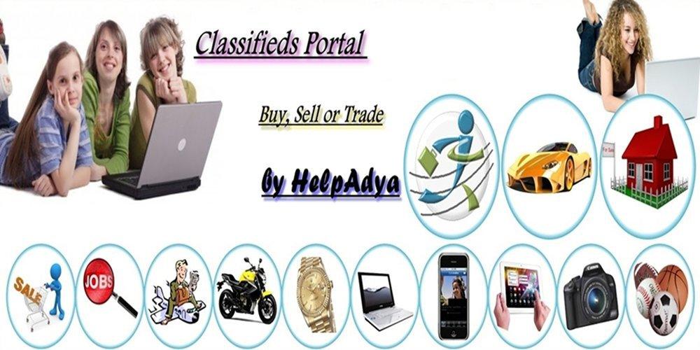 Classified Ads Portal- Help Adya cover