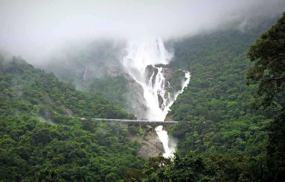 Dudhsagar Waterfall cover