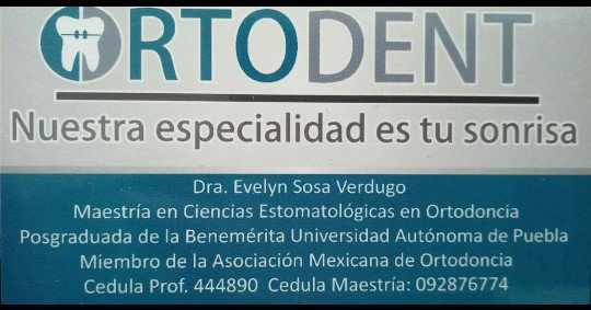 Ortodent texmelucan cover