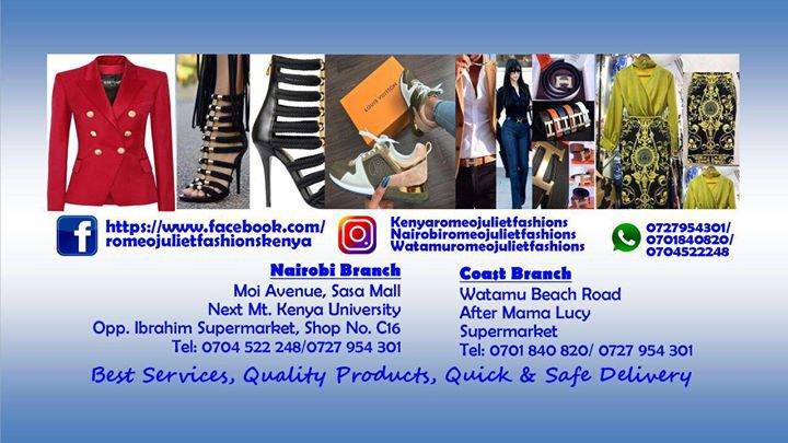 Romeo&juliet kenya -fashion boutique  cover